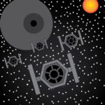 Tie Fighters by Nathan