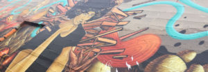 Mural at Black United Fund