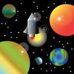 Spaceship by Stephanie